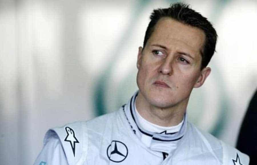 champion Michael Schumacher