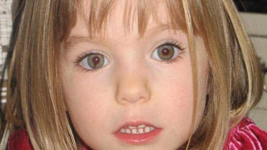 Maddie McCann Disparition