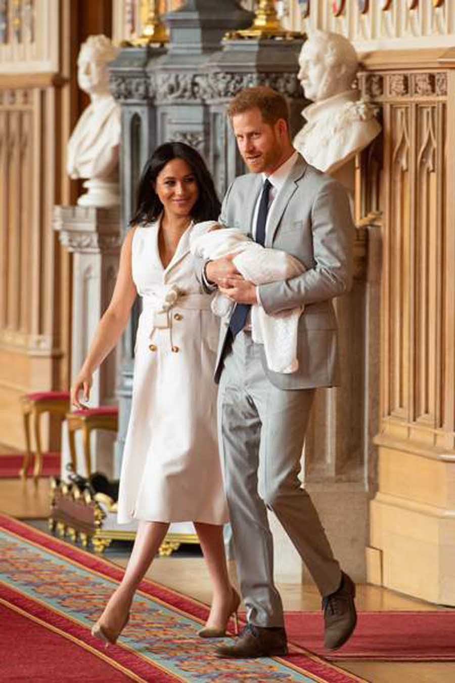 Meghan Markle et le prince Harry parents